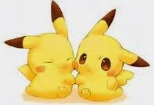 Chibi Pikachu~ Picture from Pokemon. Pikachu Pikachu, Chibi Pokemon, Pikachu Mignon, Pokemon Fan, Pokemon Fusion, Pokemon Cards, Pokemon Live, Anime Chibi, Kawaii Chibi