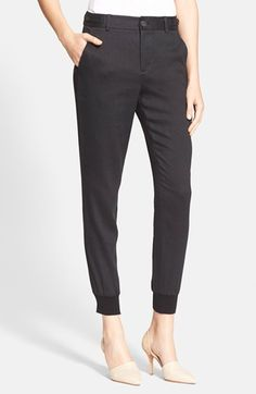 Free shipping and returns on Vince Linen Jogger Pants at Nordstrom.com. Adjustable button tabs at the waist and ribbed cuffs refine the fit of this polished take on the jogger trend, fashioned from an Italian stretch-linen blend.
