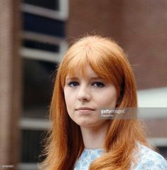 Portrait of English actress Jane Asher on the set of the television drama 'You Will Know Me By The Stars In My Eyes' in Jane Asher, The Beatles 1, 60s Hair, April O'neil, Famous Girls, English Actresses, The Most Beautiful Girl, Paul Mccartney, Hairstyles With Bangs
