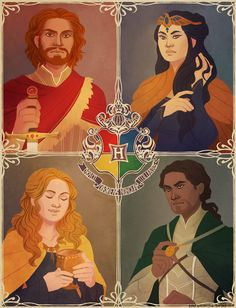 The Founders Four by rienfleche.deviantart.com