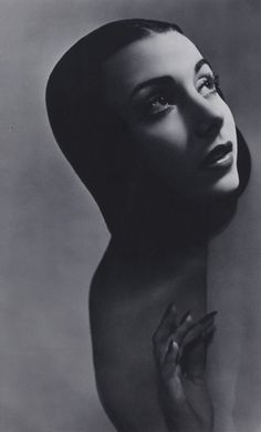 Portrait of Ballet Dancer Tamara Toumanova, 1944 George Hoyningen-Huene
