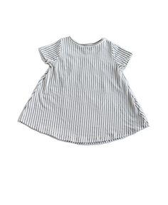 Vertical Stripe Shift Dress | Plain Jane