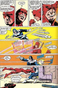 Daredevil vs Bullseye by Frank Miller [part1]