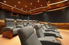 projects - CINEAK home theater and private cinema seating - media room furniture…