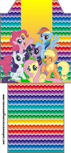 imagenes de ponny litle cajas   Imprimibles de My Little Pony 17.