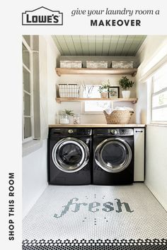 Give your laundry room a makeover with stellar appliances from Lowe's. Shop readily available washers and dryers at Lowes.com.