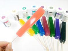 DIY 무지개 젤리 꼬치 만들기 놀이 장난감 식완