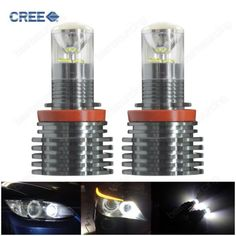 Bmw h8 bulb 60w cree led #white #angel eyes halo #light for 1 3 5 6 series x1 x5 ,  View more on the LINK: http://www.zeppy.io/product/gb/2/371595223697/
