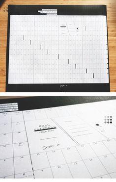 Goal Calendar / by FEI - jing&fei