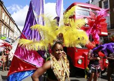 Notting Hill Carnival Kicks Off In London Amidst Large And Colourful Turnout