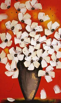 Chanter la vie par Danielle Champoux  #Art #Artiste #fleurs #peinture #artwork #artist #Galeriedart #ArtGallery #Flowers #Fleur #Nature #colors Artgallery, Galerie D'art, Artwork, Symbols, Paintings, Nature, Color, Toile, Artist