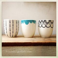 Mugs on pinterest - Stylo pour porcelaine ...