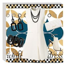 A fashion look from June 2015 featuring mini dress, leather shoes and leather wallets. Browse and shop related looks. Little White Dresses, Bling Jewelry, Victoria Beckham, Vera Bradley, Leather Wallet, Fashion Looks, Polyvore, Shopping