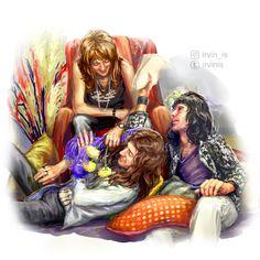 Queen, Sherlock, some Discworld, random things I find amusing Queen Drawing, Queen Photos, Queen Art, Queen Freddie Mercury, John Deacon, Killer Queen, Save The Queen, Hot Actors, Oui Oui