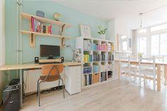 Interior Corner Desk, Interior, Furniture, Home Decor, Corner Table, Decoration Home, Room Decor, Design Interiors, Home Furnishings