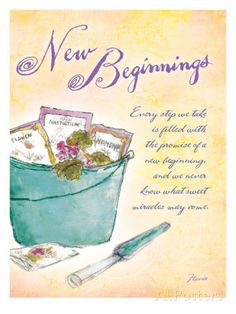 Promise of New Beginnings Poster by Flavia Weedn at AllPosters.com