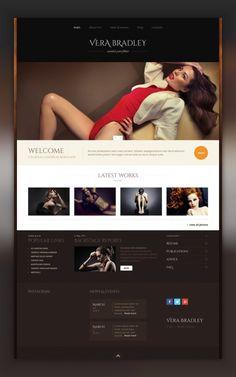 Model Agency WordPress Theme CMS & Blog Templates, WordPress Themes, Fashion & Beauty, Fashion Templates, Model Agency Templates