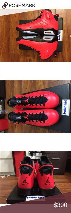 New Cheap Nike Jordan 6 Cheap sale Infrared 23 Black 384664-623