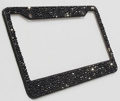 Carfond pure handmade bling bling multisize selected rhinestones aluminum l License Plate Covers, License Plate Frames, License Plates, Nissan, Cute Car Accessories, Girly Car, Car Essentials, Car Goals, Car Hacks