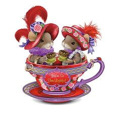 "Only Dean Griff could turn a couple of ""lady mice"" into ""Red hatters"". :)"