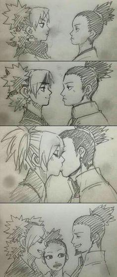 ShikaTema. I swear they are relationship goals. AF. LIKE OML. YES.