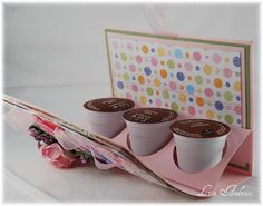 Scor-pal:  tutorial for k-cups gift package---this would be cute to change up for the holidays (for co-workers and friends or for birthday.  Cute!