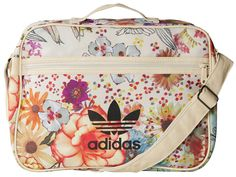 Gym Bag Beauty Essentials (Now That You're Actually Going to the Gym) | People - Adidas Originals floral bag