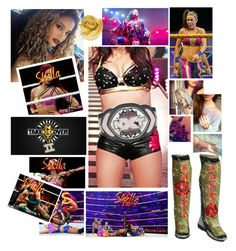 """""""🌹 Shella 🌹 NXT Takeover Brooklyn II ⚪️ Triple Threat match for NXT Women's title"""" by queenofwrestling ❤ liked on Polyvore featuring WWE, Brooks, asuka, bayley, shellaguerrero and nxttakeoverbrooklltn"""
