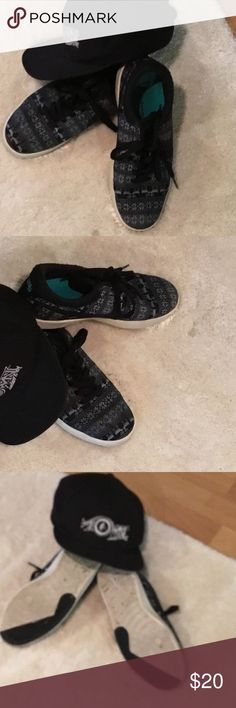 Eric Koston Signature Model...By Nike Gently Used...Have been Cleaned.. Size 8 Nike Shoes Sneakers