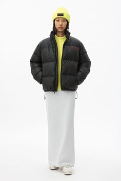 alexanderwang Collection 1 - Shop the newest women's ready-to-wear collection available online and in-stores. New Woman, Designing Women, Alexander Wang, Night Out, Ready To Wear, Winter Jackets, How To Wear, Footwear, Bags