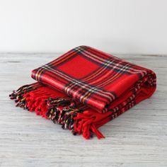 wool, tartan scarf. Perfect autumn/winter accessory  The breakfast club ❤️