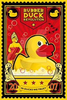 Rubber Duck Revolution by DomNX on DeviantArt