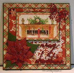 Lindas papercrafting: Julekort til Julehilsen