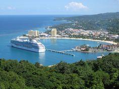 Ocho Rios, Jamaica  |  so remember being here, where I first tried the zipline - thru the jungle tops no less!