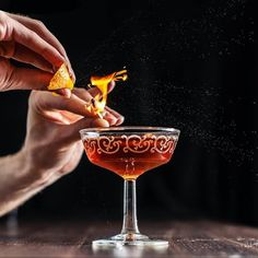 "Toronto  Playing with fire is always fun  So making cocktails with fire must be the best thing ever!   The Toronto is a classic which uses the amazing @fernetbranca . The lovely bitterness pairs incredibly well with the rye whiskey making this a true bartenders favorite.  The first appearance of the Toronto seems to be in David Embury's book ""The fine art of mixing drinks"" although some similar recipes appear in books before it. We're using the proportions as described by the amazing book by…"