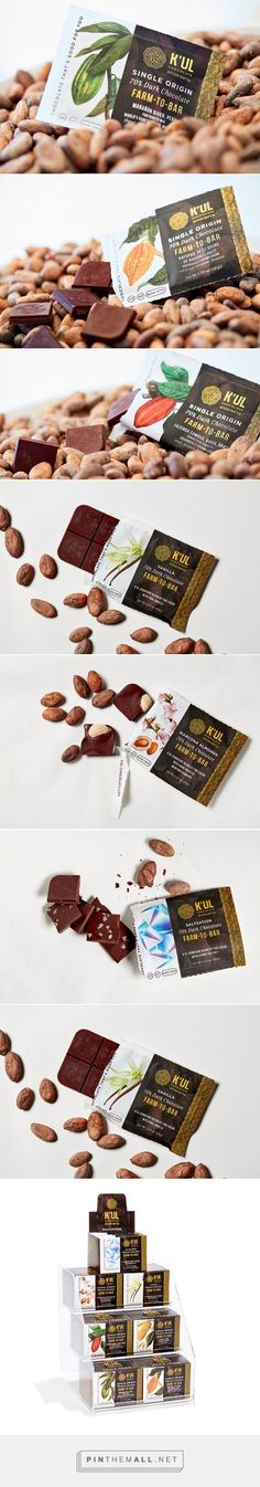 K'UL Chocolate Artisan Line Packaging
