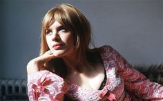 Marianne Faithful.  Such a beautiful and interesting person. - Telegraph