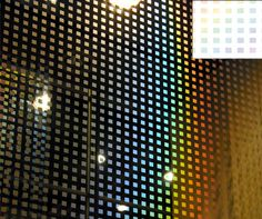 Prism Silver Square Decorative Window Film