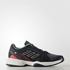 new product 4ade6 c71b1 Adidas adidas by Stella McCartney Barricade Boost 2017 Shoes (Night Navy    Light Red)