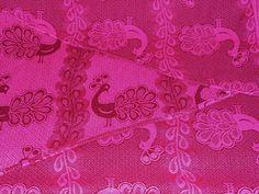 didymos burgundy pfau solid dyed hot pink