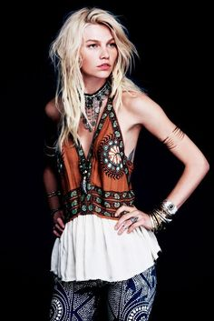 FASHION ON ROCK: Free People May '13 look book