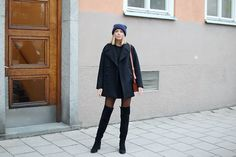 4 Ways To Wear Thigh High Boots This Winter