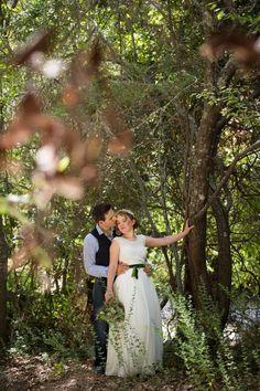 Forest themed wedding photographed by @Nat Valik featured on @Eco-Beautiful Weddings Magazine