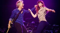 Jon Bon Jovi Dances Onstage With His Daughter Stephanie, And It's Too Damn Cute For Words