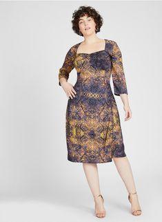d356af7e314 Double Silk Corset Dress by Anna Scholz -  PlussizeDesigner  silkdress   plussizedress  plussizeeveningwear