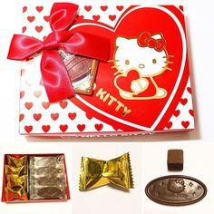 #SuperValentineBFJ #hellokitty  Tenemos dos tipos de chocolates Hello Kitty un chocolate dulce acaramelado y un bloque de cocoa semi-amargo exquisito. Todo en esta adorable caja diseñada especialmente para el día de Valentin  http://ift.tt/1JIoDvs  We have two types of chocolates Hello Kitty a caramel sweet chocolate and a block of exquisite semisweet cocoa  #boxfromjapan #golosinasjapon #chocolate #valentine #valentin