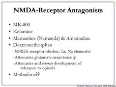 nmda receptor antagonist - Bing images