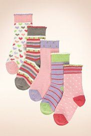 5 Pairs of Assorted Socks