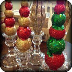 savvy seasons by liz standing ornaments dollar tree craft project - Dollar Tree Decorations