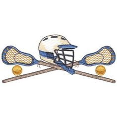 Lacrosse embroidery designs